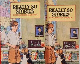 1924 Really So Stories - Original Gift Box - Elizabeth Gordon - Illustrator John Rae - Beautiful Condition!!