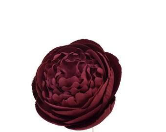 Burgundy Red Peony