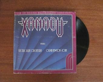 "Vintage ""Xanadu"" from the Motion Picture - 1980 - Olivia Newton-John - 80's Record Album - 80's Soundtrack - 80's Movie Soundtrack"