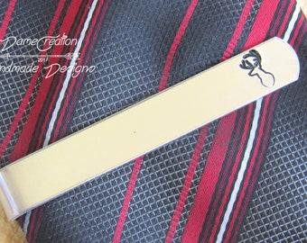 Hunting Tie Clip, Custom Tie Bar, Hunting Tie Bar, Hunting Gift, Antler Tie Clip, Antler Gifts, Wedding Gift, Groomsmen Gift