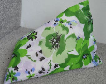 iPhone Beanie / Samsung Stand / Android Pillow / Smart Phone Cover - Green Floral