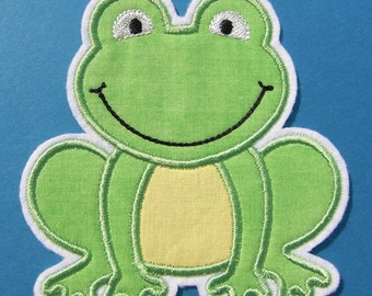 INSTANT DOWNLOAD Froggy Applique designs