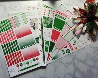 Weekly Planner Set - Christmas Holidays