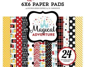 Echo Park Paper MAGICAL ADVENTURE 6x6 Scrapbook Paper Pad