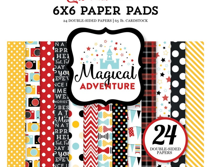 Echo Park Paper MAGICAL ADVENTURE 6x6 Scrapbook Paper Pad