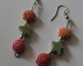 Under the sea novelty earrings