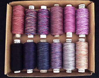 Valdani Quilting Threads - Evening Sky - 60 wt.