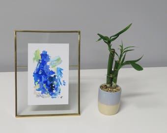 "Framed Original Acrylic Painting 6.5""x 8"""