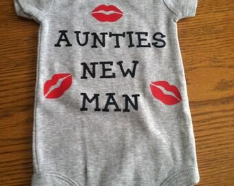 Auntie onesie or creeper