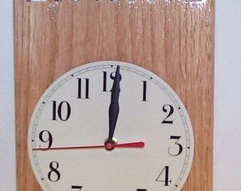 Call Sign Clock 12 hour format