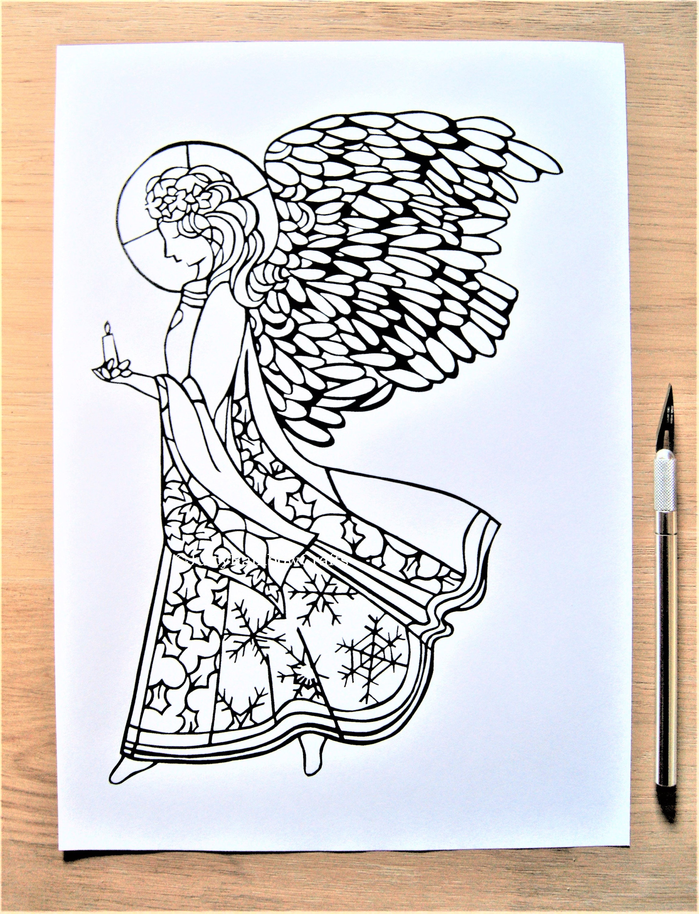 Beautiful Christmas Paper Cutting Templates Embellishment - Examples ...
