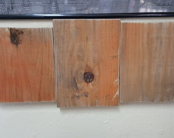 Orange blanks pallet wood natural color of pallet did not paint it!