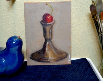 """Cherry, 7""""x5"""" 