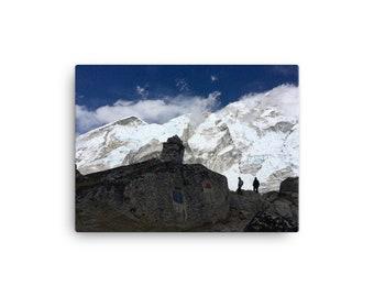 Among the Himalayas Canvas