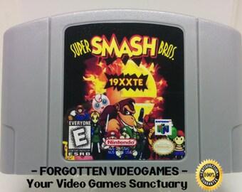 Super Smash Bros. Tournament Edition 19XXTE  - N64 Nintendo 64
