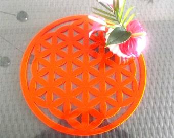 Flower of life, acrylic glass (1226)