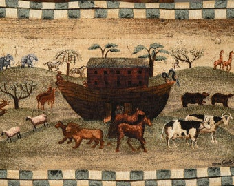 Noah'a Ark Tapestry by Carol Endres