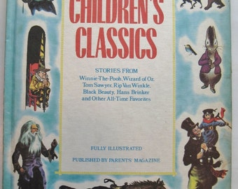 Best Loved Selections from CHILDREN'S CLASSICS - 1975 Edition - Nice Gift Copy