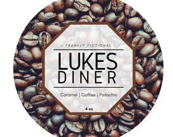 Luke's Diner | Gilmore Girls Inspired Candle