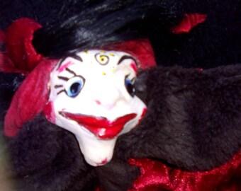 aupetitdhomme the Lady of paris puppet professional and amateur