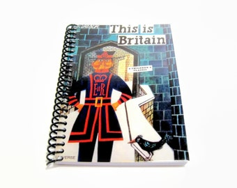 Beefeater Blank Notebook Spiral Bound