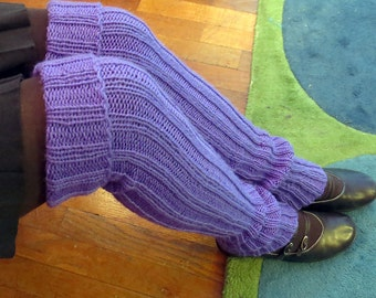 Tall and Toasty Stay-up Legwarmers- PDF Download