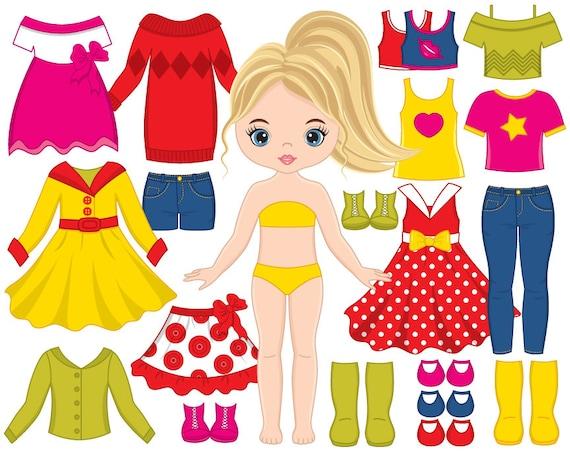 paper doll clipart vector dress doll clipart girl clipart paper doll clip art images paper doll clip art boy