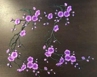 """2 X Plum Blossom Flower 