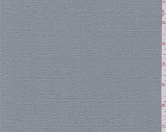 Rock Grey Polyester Crepe, Fabric By The Yard
