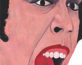 Dr. Frank N. Furter (Rocky Horror Picture Show)- Original Acrylic Painting