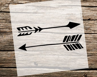 Arrows | Custom Stencil | Custom Stencils | Multiple Sizes | Reusable Stencils | Ready to use | Get Ready to Paint! |
