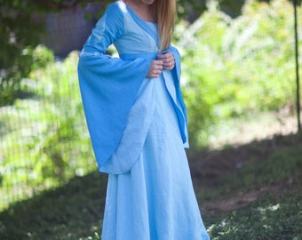 Custom Medieval Dress / Gown - Elven Gown - Pick Your Size & Color