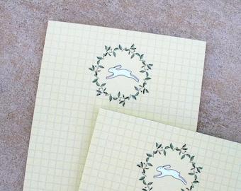 magnetic rabbit notepad