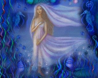 Amphitrite, Sea Goddess and Consort of Poseidon