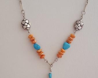 Southwest Sleeping Beauty Necklace