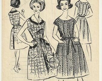 Couture patron des années 1960 Vintage Ladies robe Français Modes de Paris N. 735 Patron Ancien