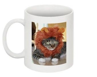 Cat Lover Ceramic Coffee Mug - Jungle King coffee mug