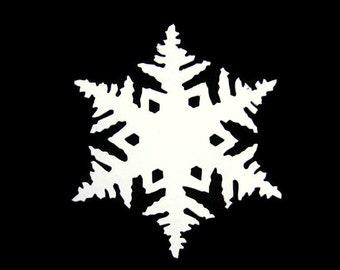 Extra Large Snowflake Die Cut Set of 8