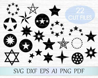 Star svg, stars png, star svg file, star clipart, stars svg cricut, pentagram svg, star cut file, star clip art, star design, stars cut svg