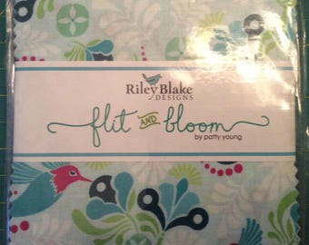 Riley Blake Flit and Bloom Charm Pack