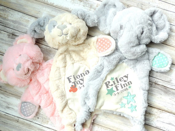 Personalized baby gift custom lovey new baby gift baby toy negle Choice Image
