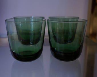 Green Shooter Glass