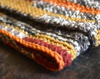 Cozy Crocheted Cowl Scarf