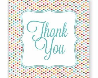 Card Thank You Wedding, Baby Shower Birthday Party, Bridal Shower Greeting Card, Blank Thank You Note, Give Thanks, Gratitude