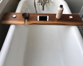 Black Walnut Bathtub Tray