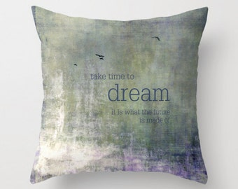 take time - pillow cover and insert
