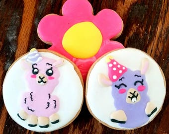 Llama cookies (12)