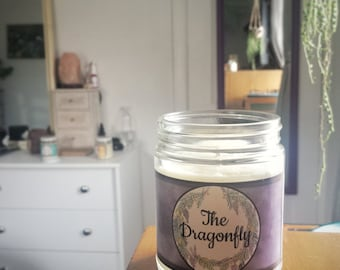 The Dragonfly Gilmore Girls Inspired Soy Wax Candle-Limited Edition