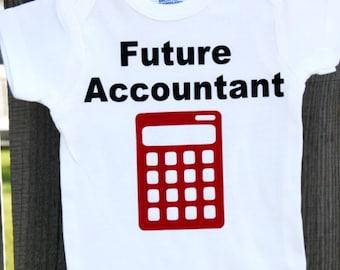 Future Accountant Onesies®, Math Onesies®