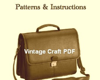 Leatherwork: Patterns and Instructions, PDF